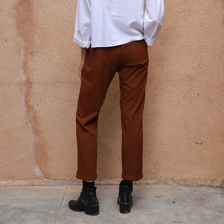 Me & Arrow Cuff Pants - Canyon Brown