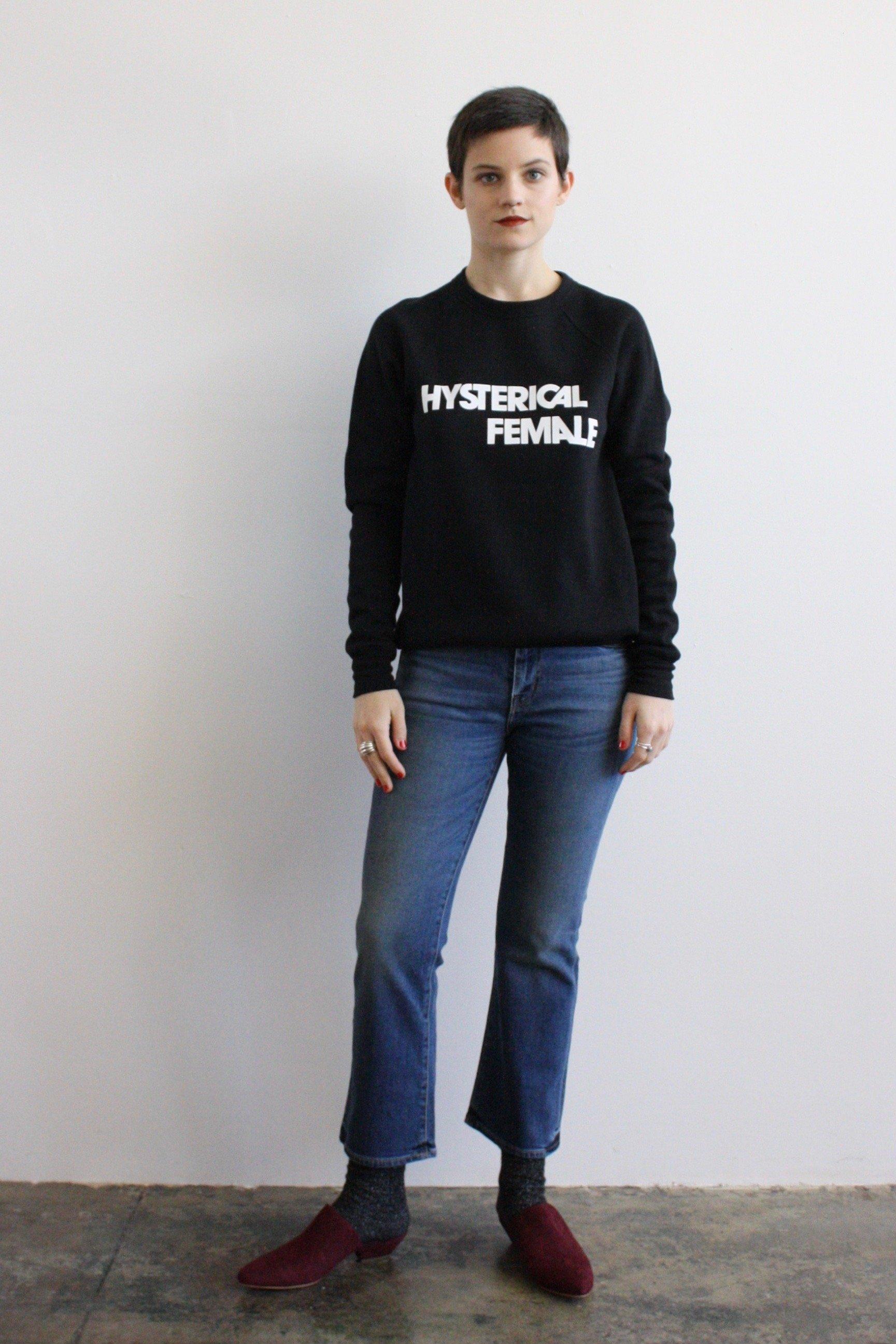 69f98ab6f Rachel Antonoff Hysterical Female sweatshirt | Garmentory