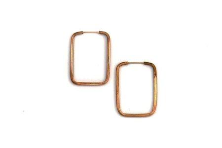 Isobell Designs Open Rectangle Hoops