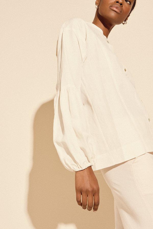 Kamperett Ferou Silk Linen Top