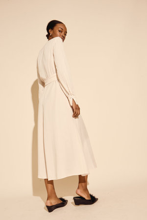 Kamperett Ellie Midi Wrap Dress