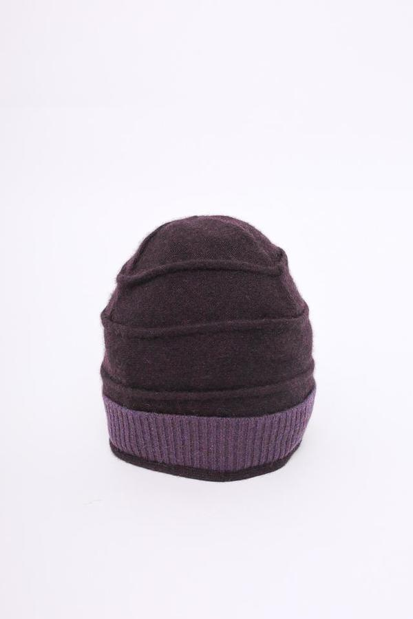 Ekologic Beehive Hat in Dark Plum/Purple