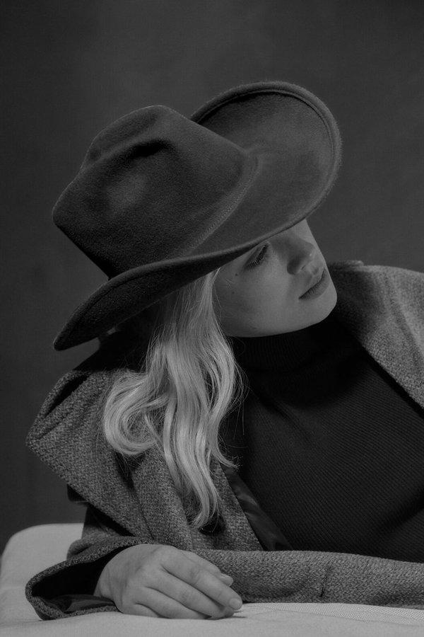 c7ac0006785cc Clyde Wool Cowboy Hat - BLACK