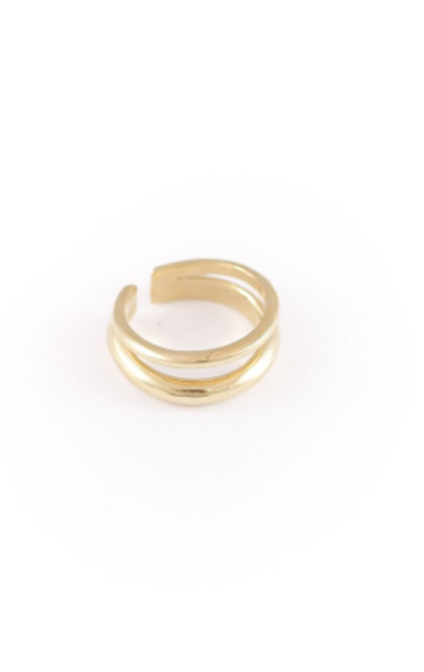 Wolf Circus Balance Ring in Gold