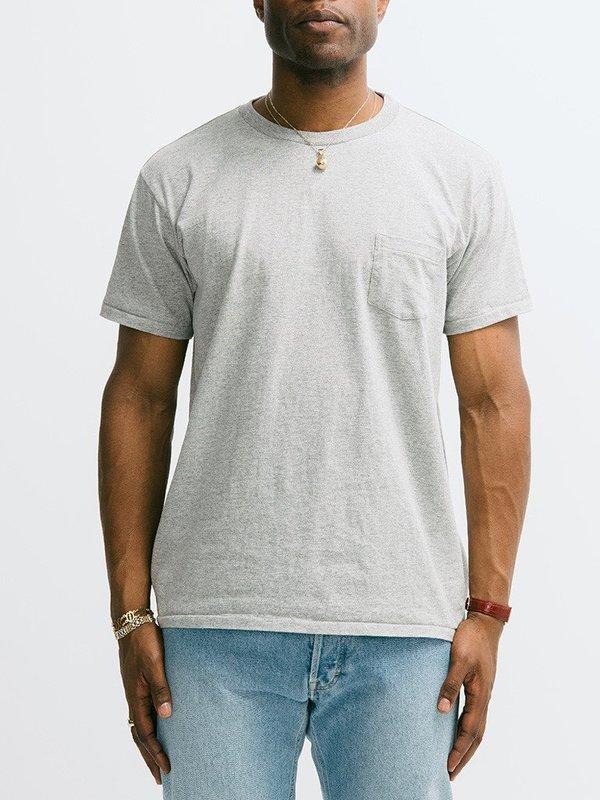 Men's Velva Sheen 2 Pac Short Sleeve Pocket Crew Neck