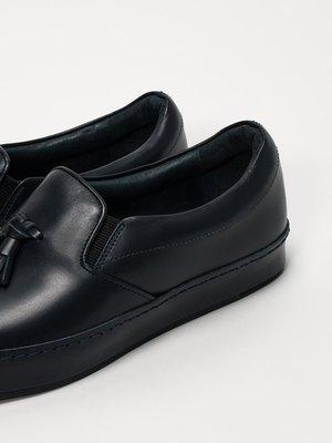 Men's Hender Scheme DRESS SLIP ON-NAVY