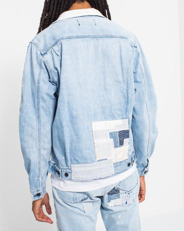 Kuro Handmade Patchwork Denim Jacket