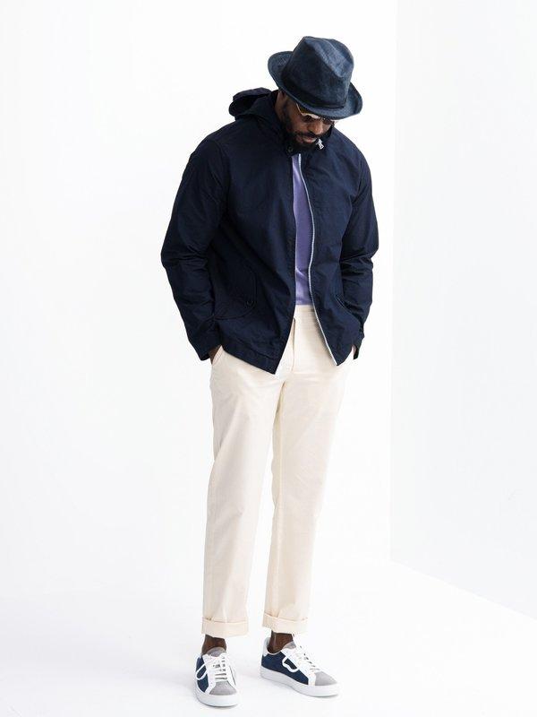 Alex Mill Indigo Cotton Nylon Jacket