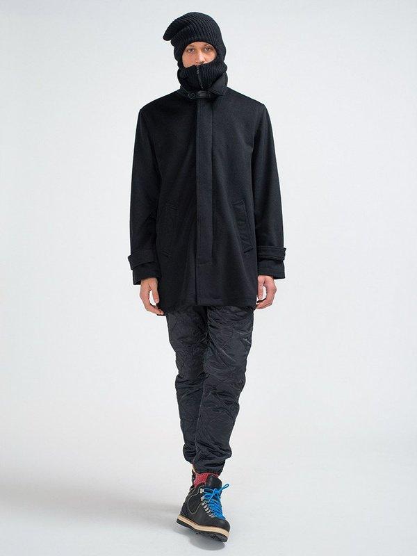 Golden Bear Loro Piana Luxe Wool Topcoat - Black