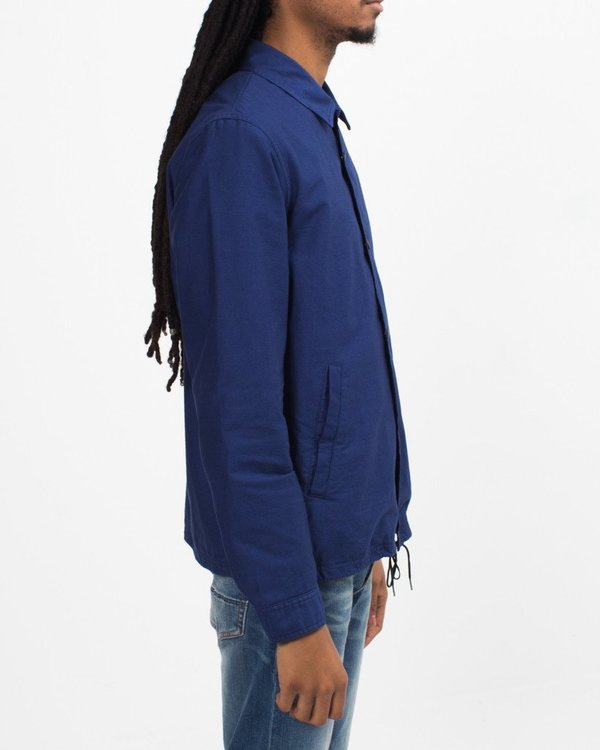 Ganryu Comme des Garçons Moleskin Coach Jacket - Blue