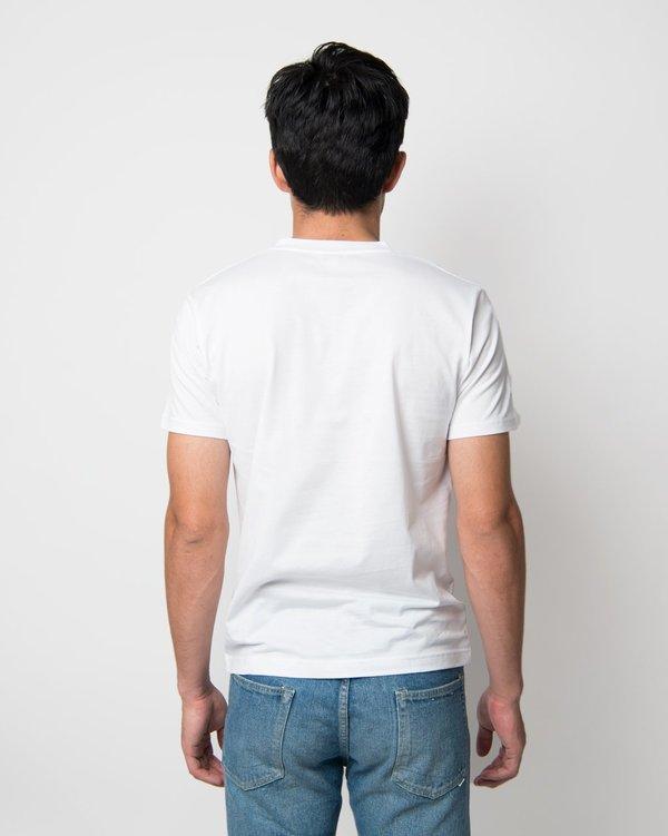 Sunspel Short Sleeve V-Neck