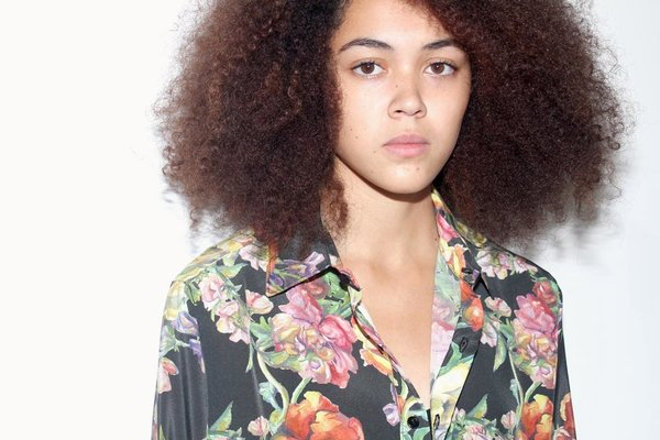 Strathcona Watercolour Bouquet Unisex Silk Dress Shirt - Online Only