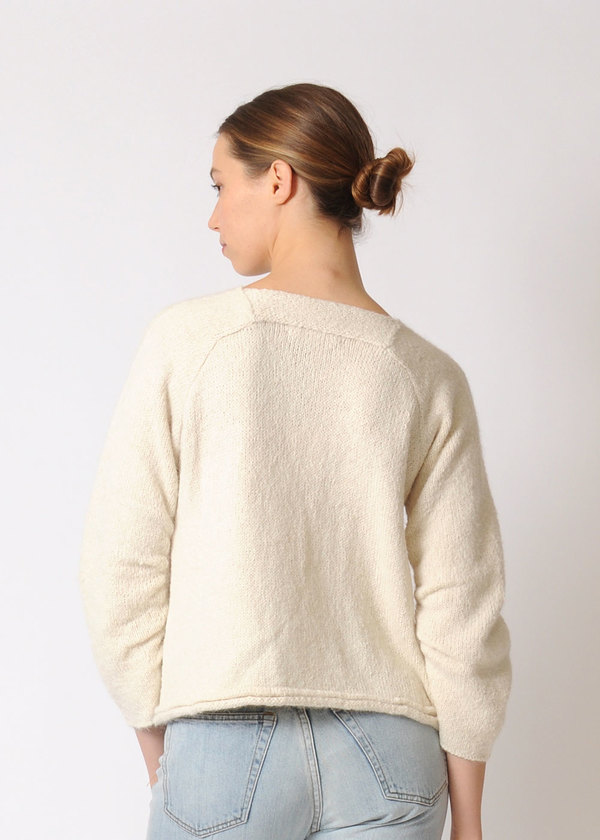 Wol Hide Gathered Raglan Sweater