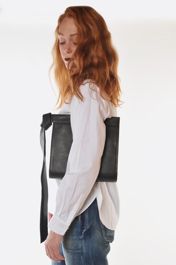 Tsatsas Black Tape Bag