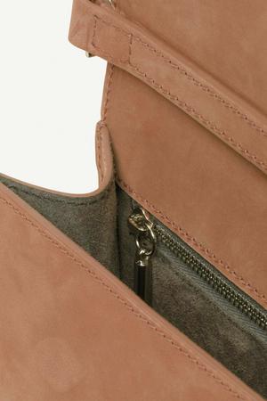 PB 0110 Smoke Velvet AB10.1 Shoulder Bag