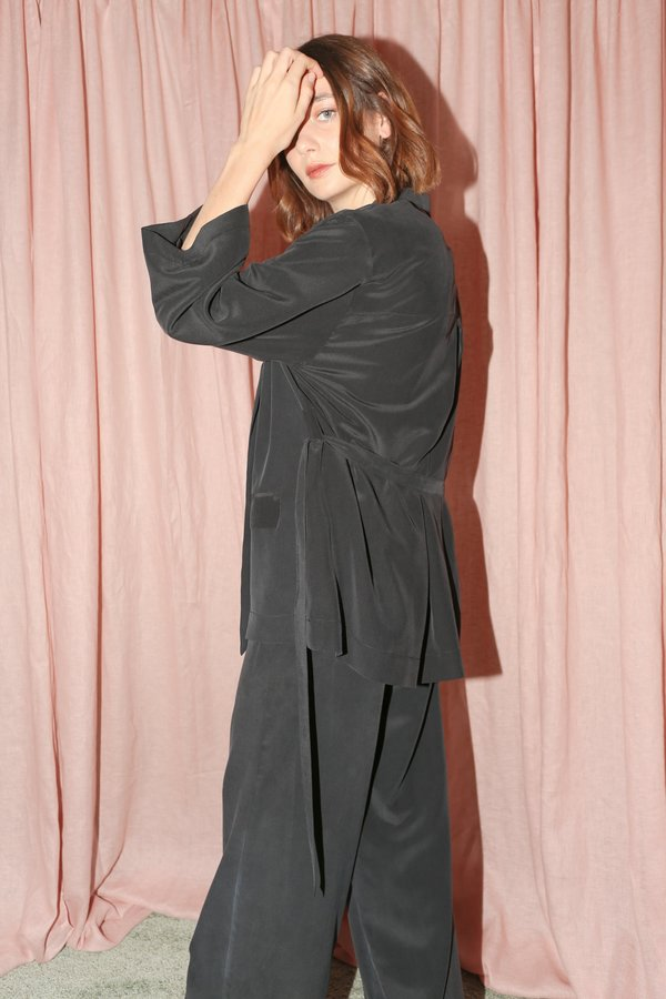 ARE Studio Elsa Robe in Onyx