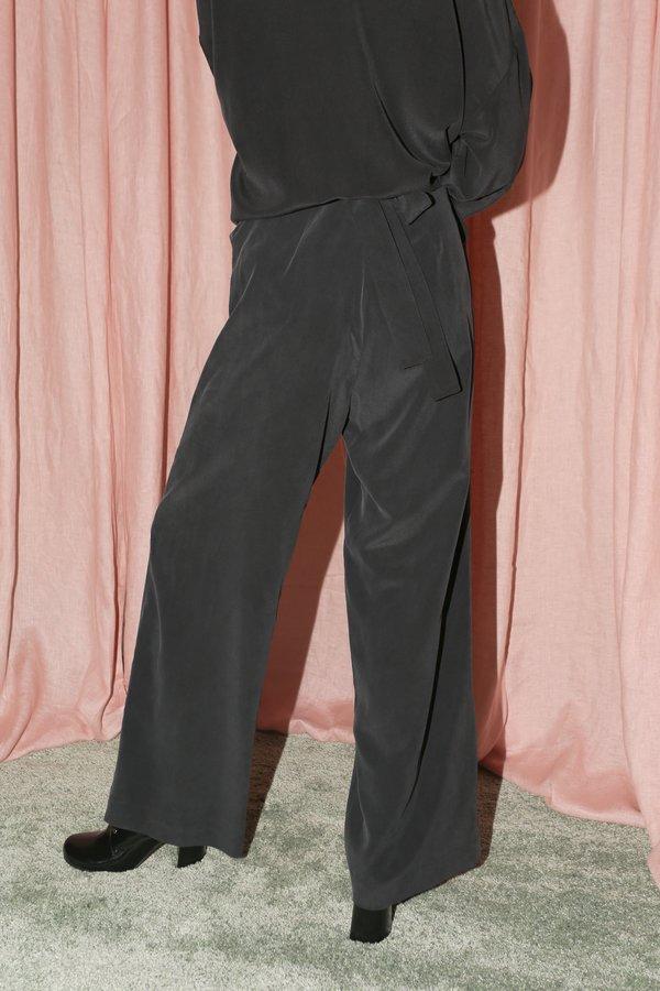 ARE Studio Weston Tie Pants - Onyx