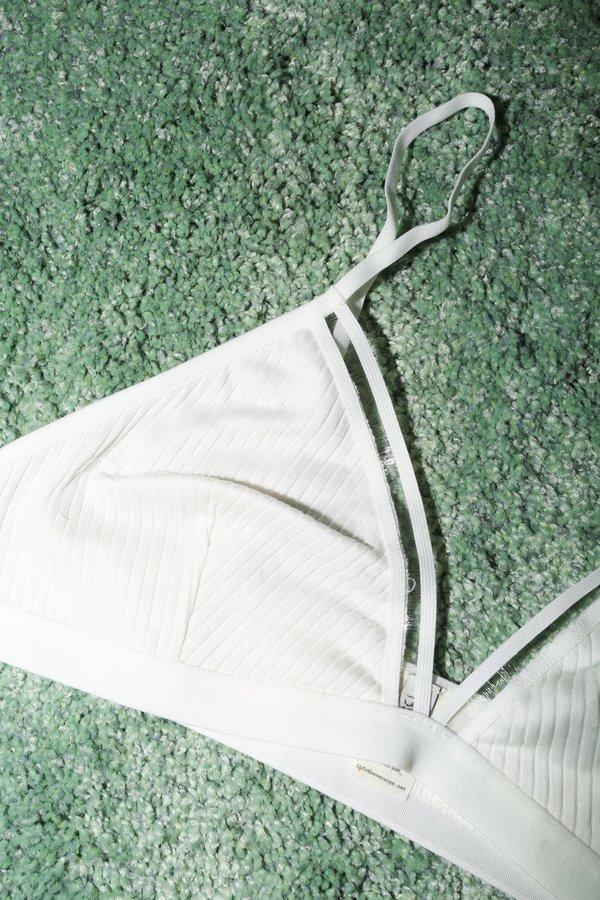 Baserange Getz Bra in White