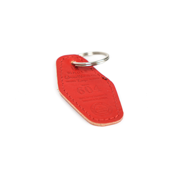 Maple Lodge Room Key - Red