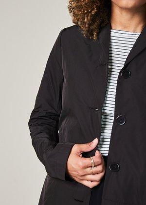 Hudson Lightweight Four Button Coat