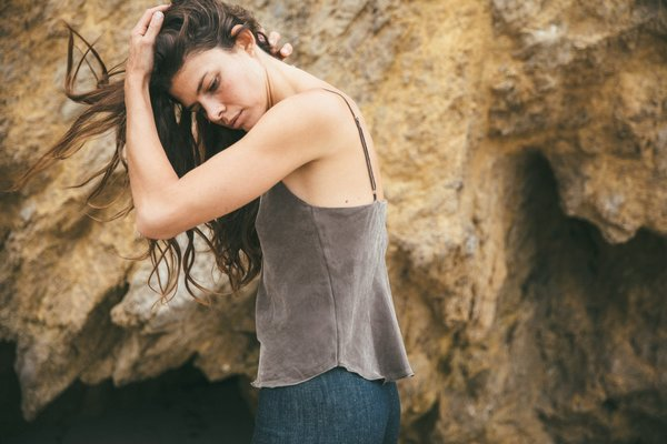 Ozma Camisole in Cupro