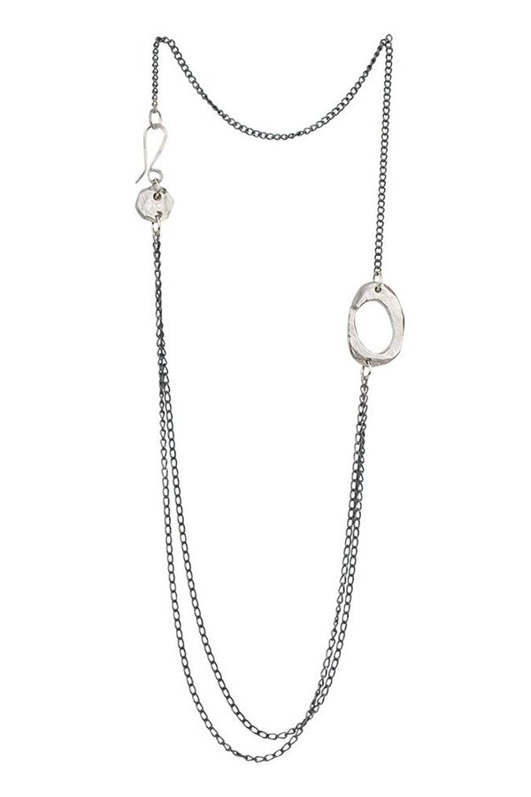 "Chikahisa Studio Skipping Stones 18"" Necklace"