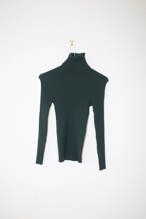 Giu Giu Nonna Turtleneck - Derby Green