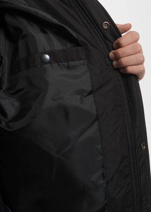 Neige Black Puffer Jacket