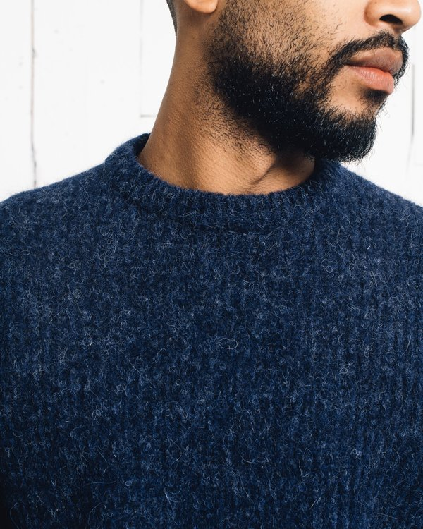 Norse Projects Arlid Brushed Alpaca Sweater
