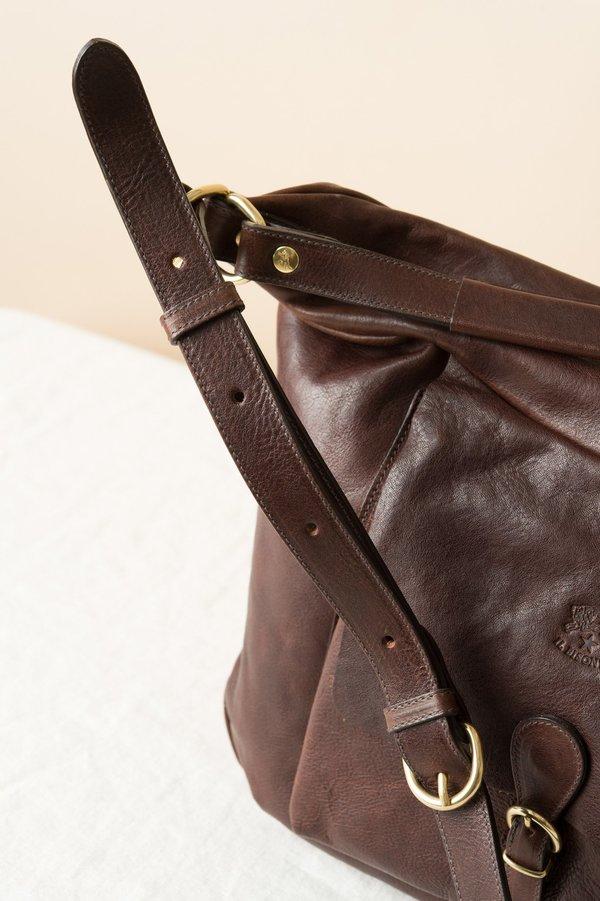 Il Bisonte Scaven Bag In Vintage Testa de Moro