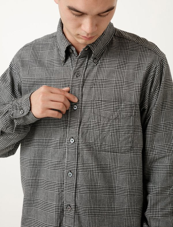 Engineered Garments 19th Century BD Shirt - Glen Plaid