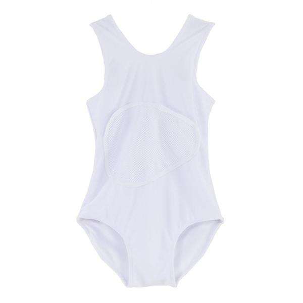 324918ed96 Kids Slow and Steady Wins the Race Bathing Suit - White | Garmentory