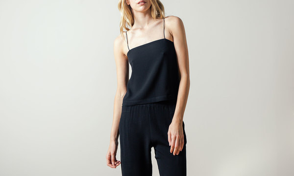 Shaina Mote Arche Camisole in Black Ink