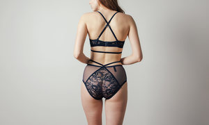 Lonely Winona Softcup Bra in Midnight