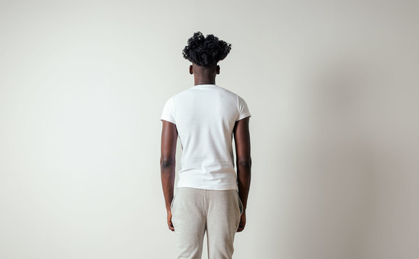 The White Briefs Curacao Short Sleeved Tee in White