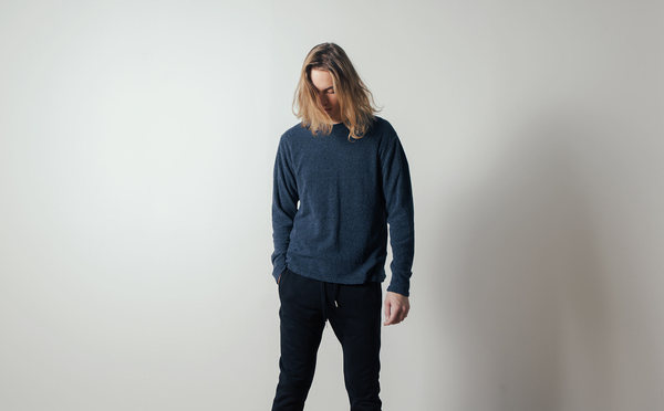 Coltesse Beeg Longsleeved Tee in Mixed Blue