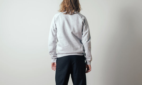 The White Briefs Sal Sweatshirt in Grey