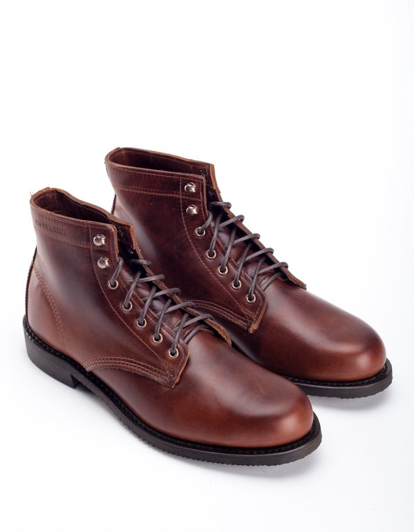 3f09bfcc57e Wolverine 1883 Wolverine Kilometer II Boot Brown Leather