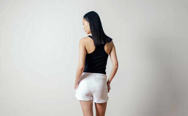 The White Briefs Caprice Shorts in White