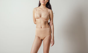 The Nude Label Basic Bra in Peach