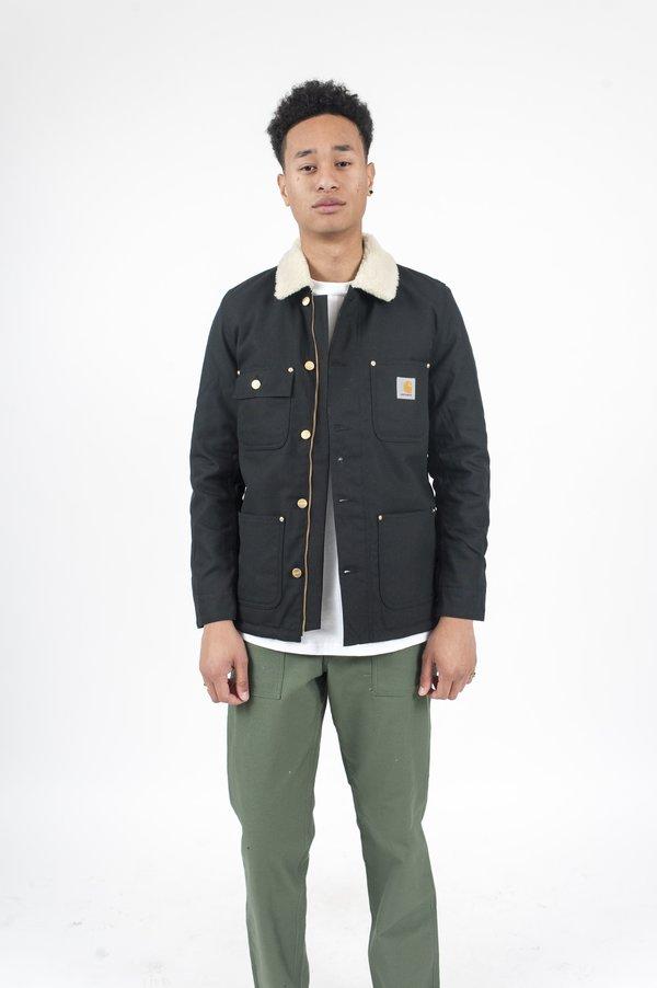 CARHARTT WIP Phoenix Shearling Jacket - Black