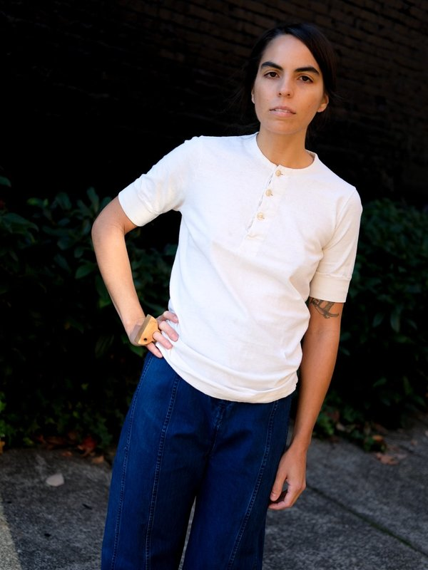 Shop Boswell Vintage Henley Tee Shirt