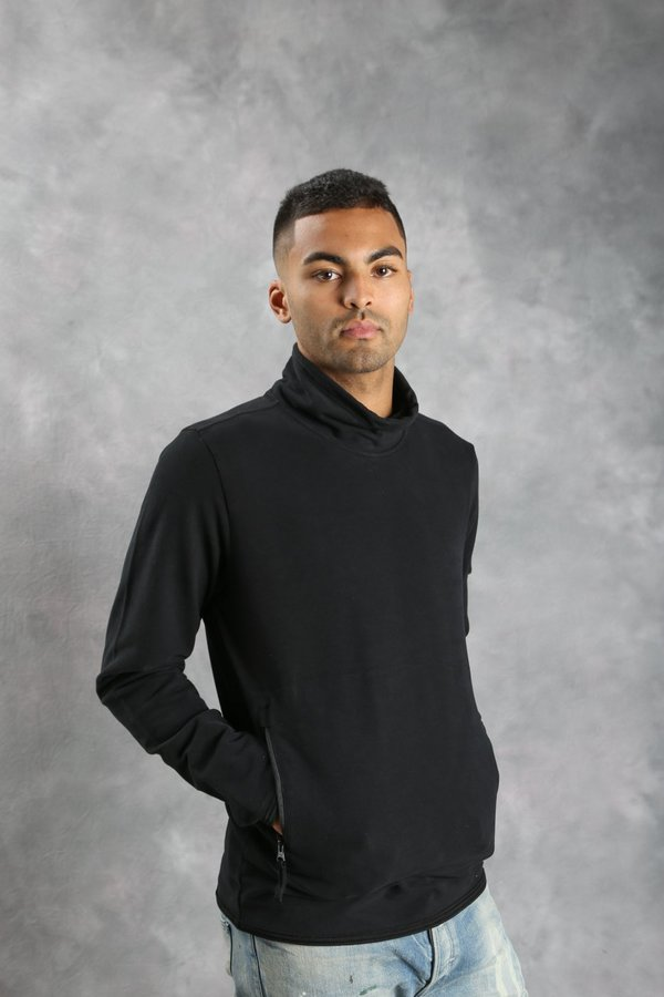 Stone Island 61840 Ghost Piece Mock Neck