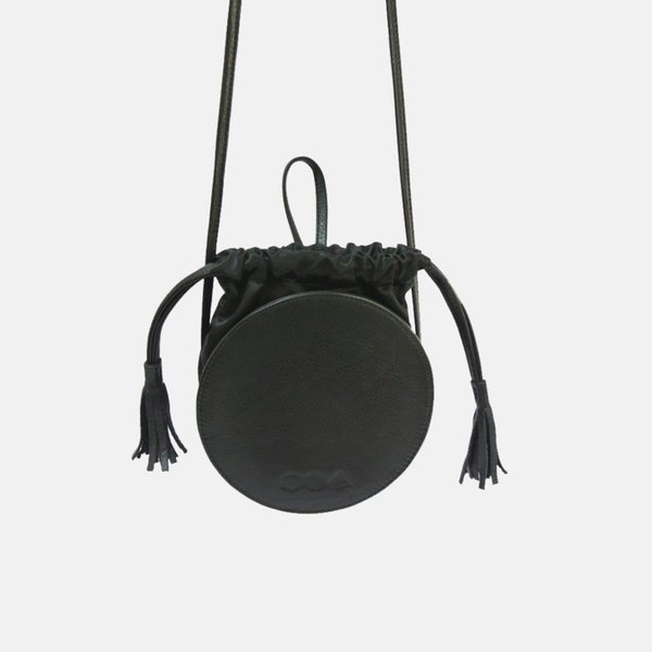 The Common Knowledge Circle Bag - Black