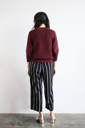 Side Party Neukoln Stripe Wide Pant