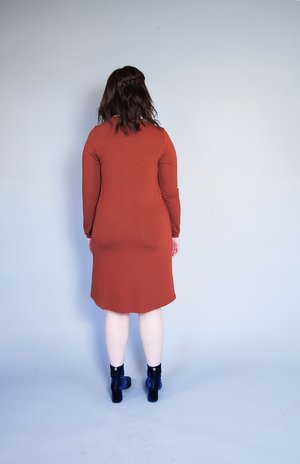Meemoza Swan Sweater Dress