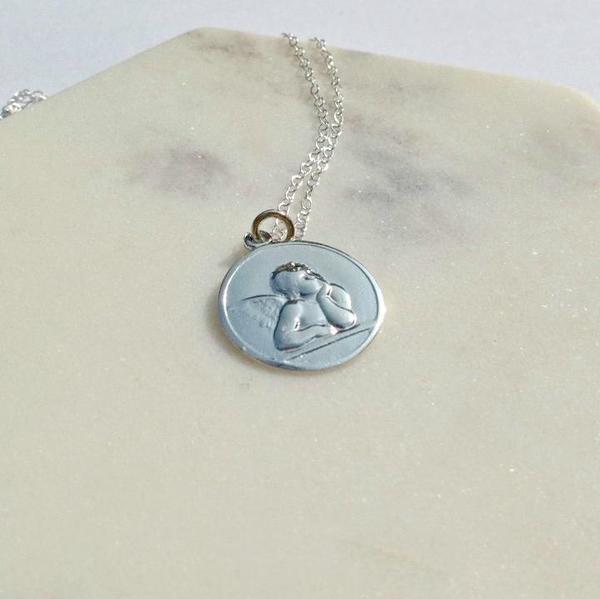 Eleventh House Jewellery Cherub Necklace