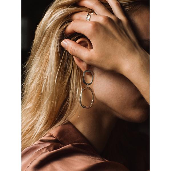 NEAL Jewelry Gleam Earrings - Bronze