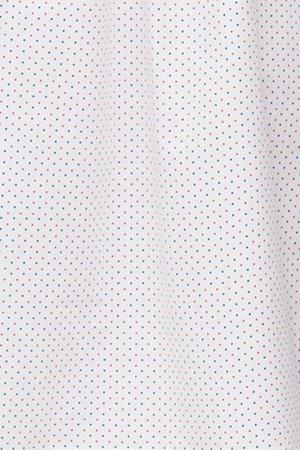 The Sleep Shirt Ruffle Short Red and Blue Dot