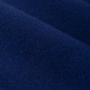 Country of Origin 5 Gauge Staple Lambswool Crewneck - Navy